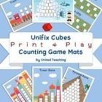 The game mats provide children with the opportunity to explore counting to 20 and the concept of more and less. By using several dice or sposters y...