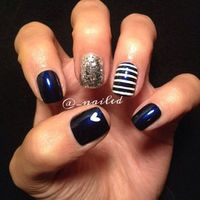 Nails Idea | Diy Nails | Nail Designs | Nail Art . Follow my account for other simple nail designs, starting a few new boards very soon so follow me! -Gisselle