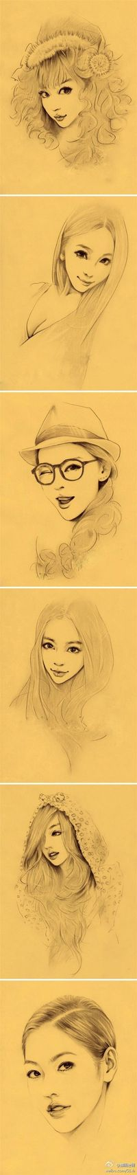 Lovely sketches.
