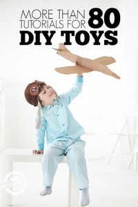 We love DIY toys. It's so much fun taking things from around the house and turning them into a fun toy for our kids.