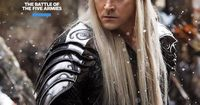 These latest three stills from The Hobbit: The Battle of the Five Armies feature Bard, Tauriel and Thranduil. Apparently, the stills come from Entertainment Weekly Comic-Con special issue.