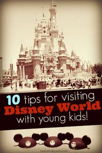 10 tips for visiting Disney World with young kids