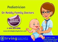 Pediatrician Doctors are available in Dr. Reddy Family Doctors Treatments service. This clinic is in Irving, Texas. They provide treatment & Care for adults health. They treatment as like parent. For more details visit our site.