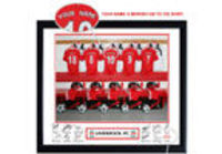 personalised Liverpool Kit Picture (Framed) For thousands of Liverpool fans the ultimate dream is to have their name on the back of their own Reds kit, and while you can get your name printed on the back of a shirt it really isnt as satisfying htt...