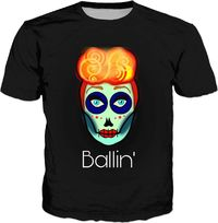 Black Ballin' Sugar T-Shirt $30.00