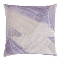Iris Pleated Velvet Pillow by Kevin O'Brien Studio $315.00