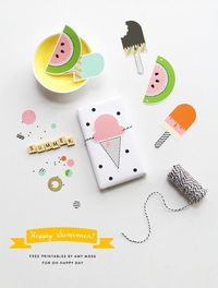 Free 'Happy Summer' Printables | Oh Happy Day!