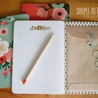 Travel Notebook With Pocket