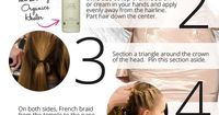 6 steps to the perfect braided chignon with this DIY braid tutorial from hairstylist Philip Pelusi of Tela Organics at Venexiana Spring 2013.