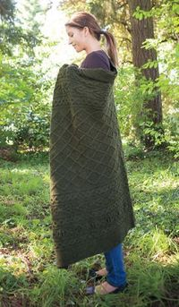 Reilly Afghan Pattern by Kerin Dimeler- Laurence
