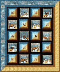 Winter Woodlands Pattern - this links to PDF file of pattern