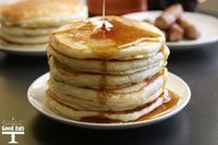 This is the BEST pancake recipe- I've tried a lot of recipes, and this is by far the best. Perfect pancakes from scratch every time.