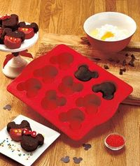New Disney Mickey Mouse Cakelet Pan Make Mini Cakes or Brownies on eBay!
