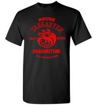 Game of Thrones House Targaryen T-Shirt Adult Unisex $15.00 https://www.nurdtyme.com