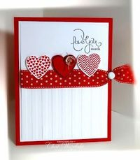 Stampin' Up! Hearts a Flutter, Well Scripted, Valentines, Love