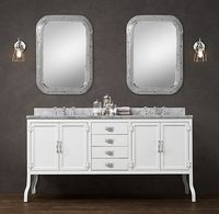 Pharmacy Double Vanity White - Restoration Hardware