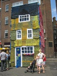 Knitted house For you