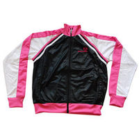 Sergio Tacchini - Neon Ghibli - Black White Pink Full Zip Lightweight Fabric Great Sporty Fashion http://www.comparestoreprices.co.uk/clothing/sergio-tacchini--neon-ghibli--black-white-pink.asp