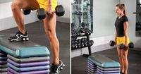 Bench Step-ups are an AWESOME addition to any lower-body training
