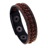 Punk Wide Bracelets Unique Design Leather Bracelets & bangle for Women Men R212.80