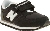 New Balance Black 420 Unisex Toddler In between nap time, little active feet need to stay comfy and thanks to the New balance 420, they can do so in style. Arriving in black, this suede profile features grey accents and classic N brandin http://www.compar...