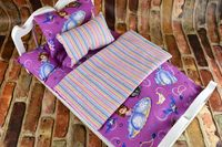 American Girl Doll Bedding - 18 Inch Doll Bedding Set - Sofia the First $28.99