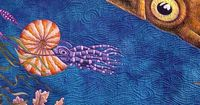 under the #sea art #quilt by Judy Coates Perez