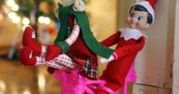 Elf ideas On a bicycle built for two!