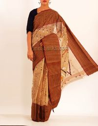 online shopping for dhaka handloom cotton sarees are available at www.unnatisilks.com