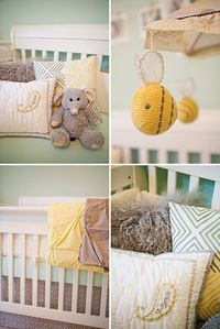 Kate S Lovely Yellow Mint Green Nursery And