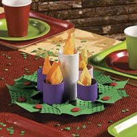Paper Plate Advent Wreath