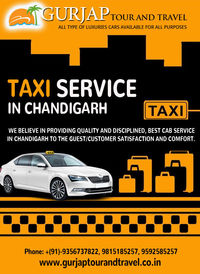 Book a reliable, efficient taxi services in Chandigarh, Kharar. Taxis are ready to serve you and Service is on a first-come, first-served basis. Call us now: 9815185257 or visit: http://www.gurjaptourandtravel.co.in/taxi-services.html