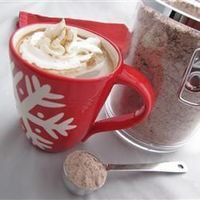 Gunline Coffee- 2 cups powdered non-dairy coffee creamer. 1 1/2 cups instant hot chocolate mix. 1 1/2 cups instant coffee granules. 1 1/2 cups white sugar. 1 teaspoon ground cinnamon. 1/2 teaspoon ground nutmeg. Combine ingredients & store. To make, a...
