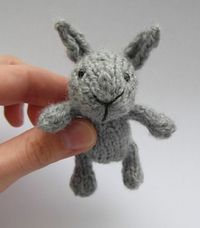 Too cute. Ravelry: Little baby bunny pattern by Justyna Kacprzak