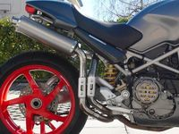 "�™� www.DESMOHEART.com �™� SPARK Ducati Monster S2R / S4R High Position Slip-on Exhaust ""Round"" (EU homologated) �'�738.00"