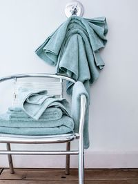 Essentiel Iceland Blue Bath Towels by Alexandre Turpault $20.00