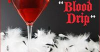 Halloween Martini Vampire Style ~ How to make Candy Blood Rim on Glass