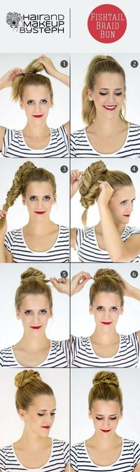 hair tutorials, fish tail braids and fishtail braids.