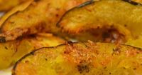 Parmesan roasted acorn squash- This simple side dish recipe calls for squash slices to be tossed with Parmesan cheese and herbs before being roasted to tender deliciousness.