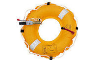 auto/manual inflatable life ring