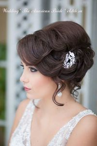 Wedding Hairstyles ~ 1920's vintage updo & neutral make-up. LOVE LOVE LOVE! Whatcha think ladies?!