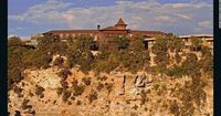 The El Tovar, at the Grand Canyon, is said to have been the inspiration for the villas at Disney's Wilderness Lodge.