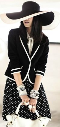 black and white style �™��œ� | Keep the Glamour | BeStayBeautiful
