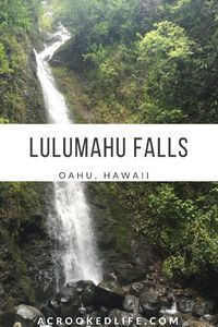 Lulumahu Falls is one of the most beautiful hikes I have ever done in my life and one of my favorites on Oahu so far! Getting To Lulumahu Falls Lulumahu Falls i