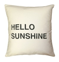 Hello Sunshine Pillow by Sugarboo $130.00
