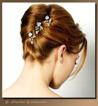 The French twist is an up-do hairstyle that can be formal or casual; some women find the French twist convenient for everyday, especially to keep hair out of th