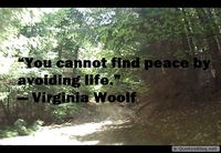 Finding peace quote