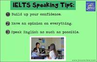 #IELTS speaking tips