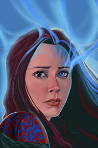 Fred / Illyria - Angel by Phil Noto. I am impressed, this is great.