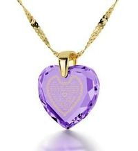 24k Gold Plated Necklace Cubic Zirconia